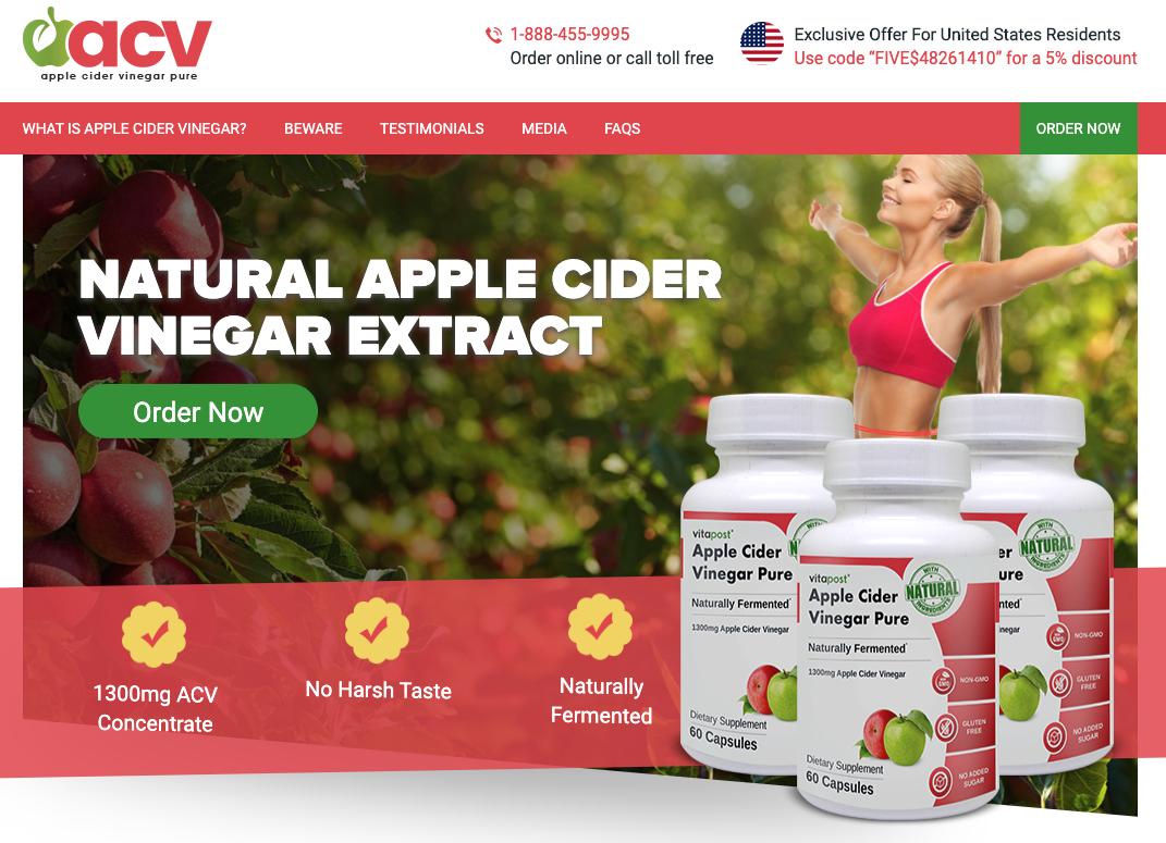 Apple Cider Vinegar Pure Australia