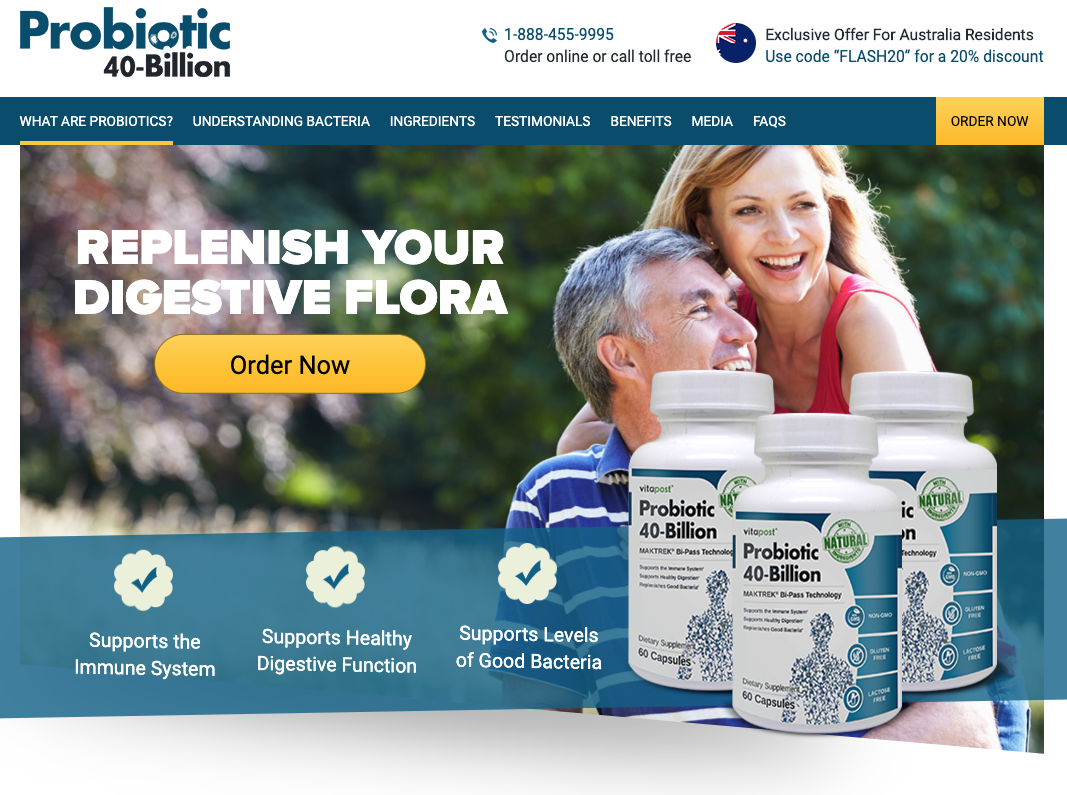 Probiotic 40-Billion Australia