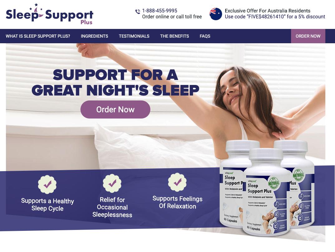 Sleep Support Plus Australia